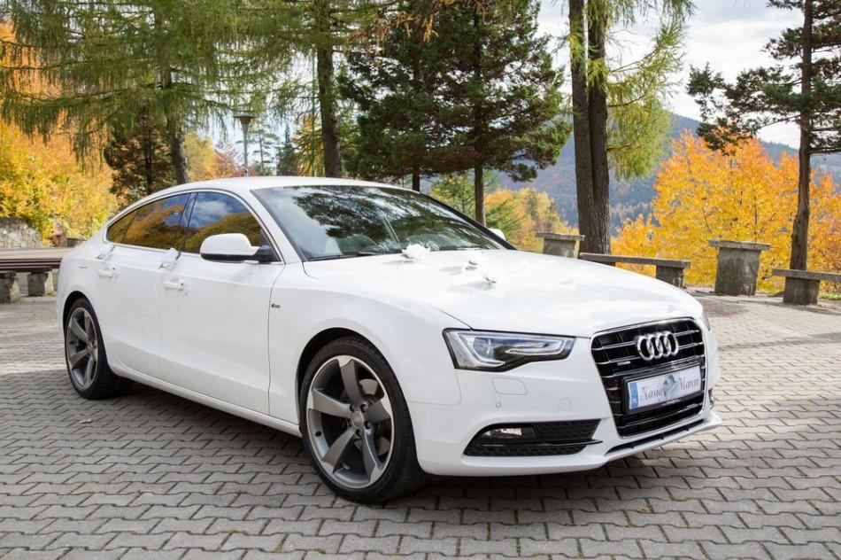 BiaŁy Samoch 211 D Audi A5 Sline Auto Do Ślubu ŚlĄsk I