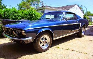 Mustangiem do wyjątkowego ślubu!