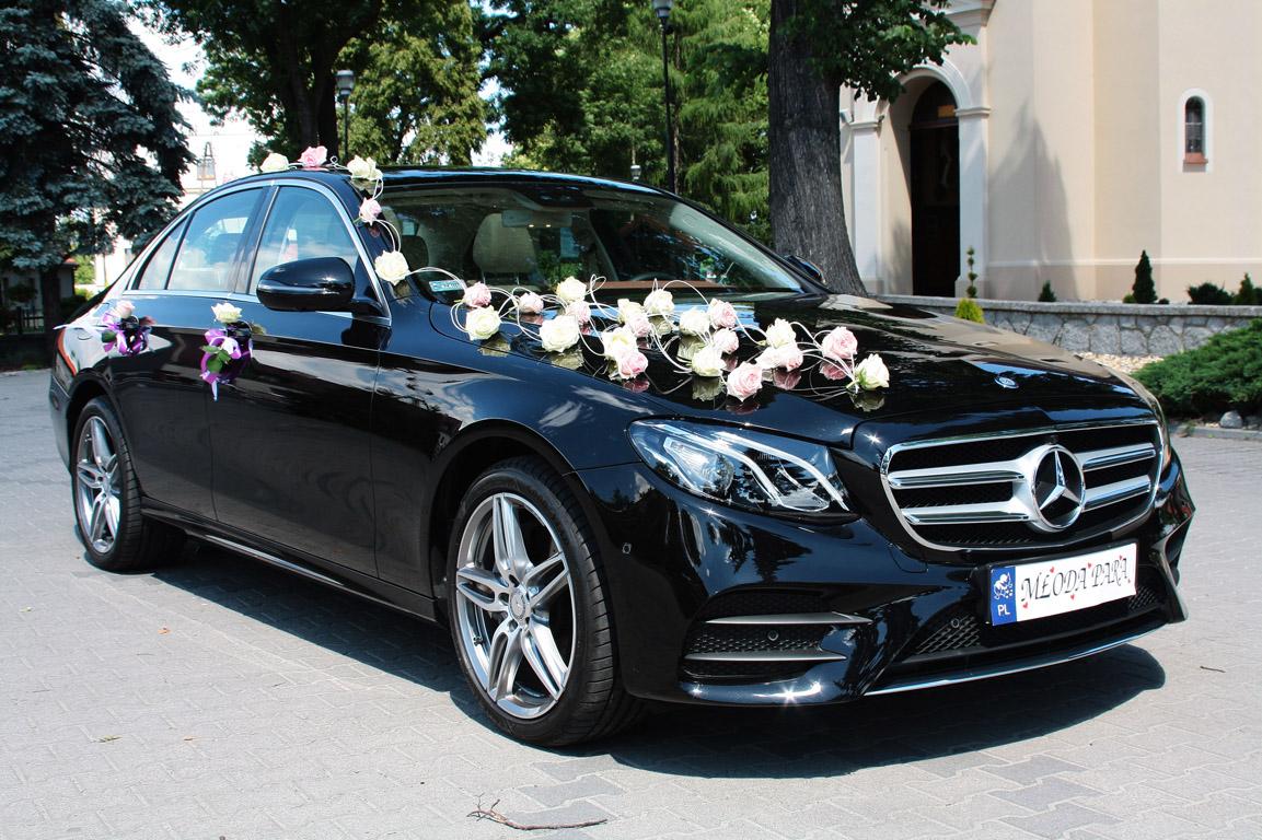 Nowy Mercedes E Klasa 2016r Biały Amg Mercedes Czarne