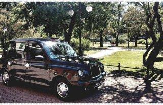 Londyńską Taksówką do Ślubu