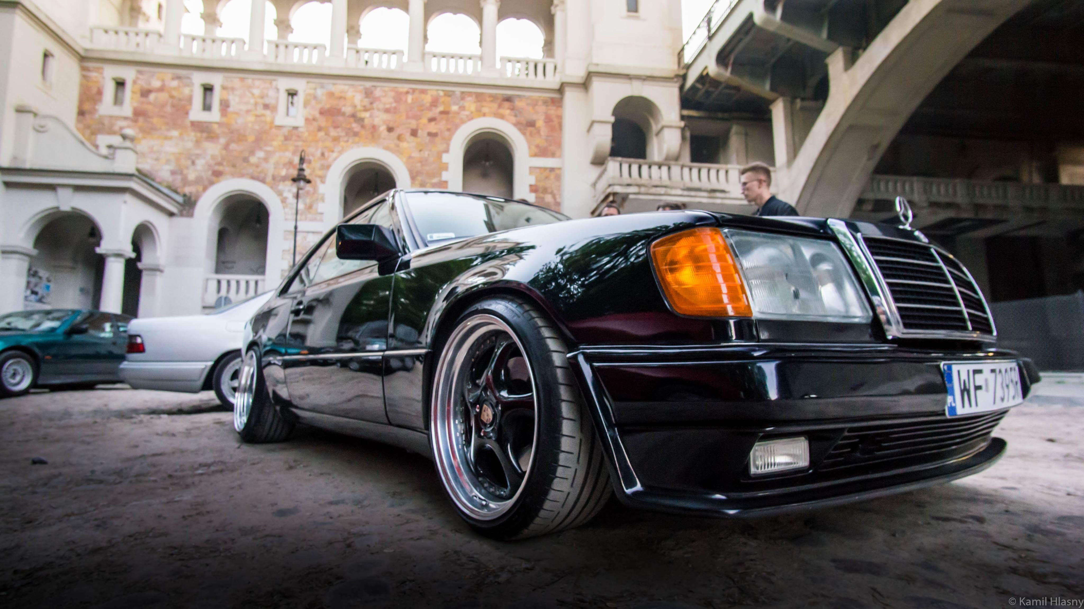 Mercedes W124 Coupe AMG - Auto do ślubu Warszawa