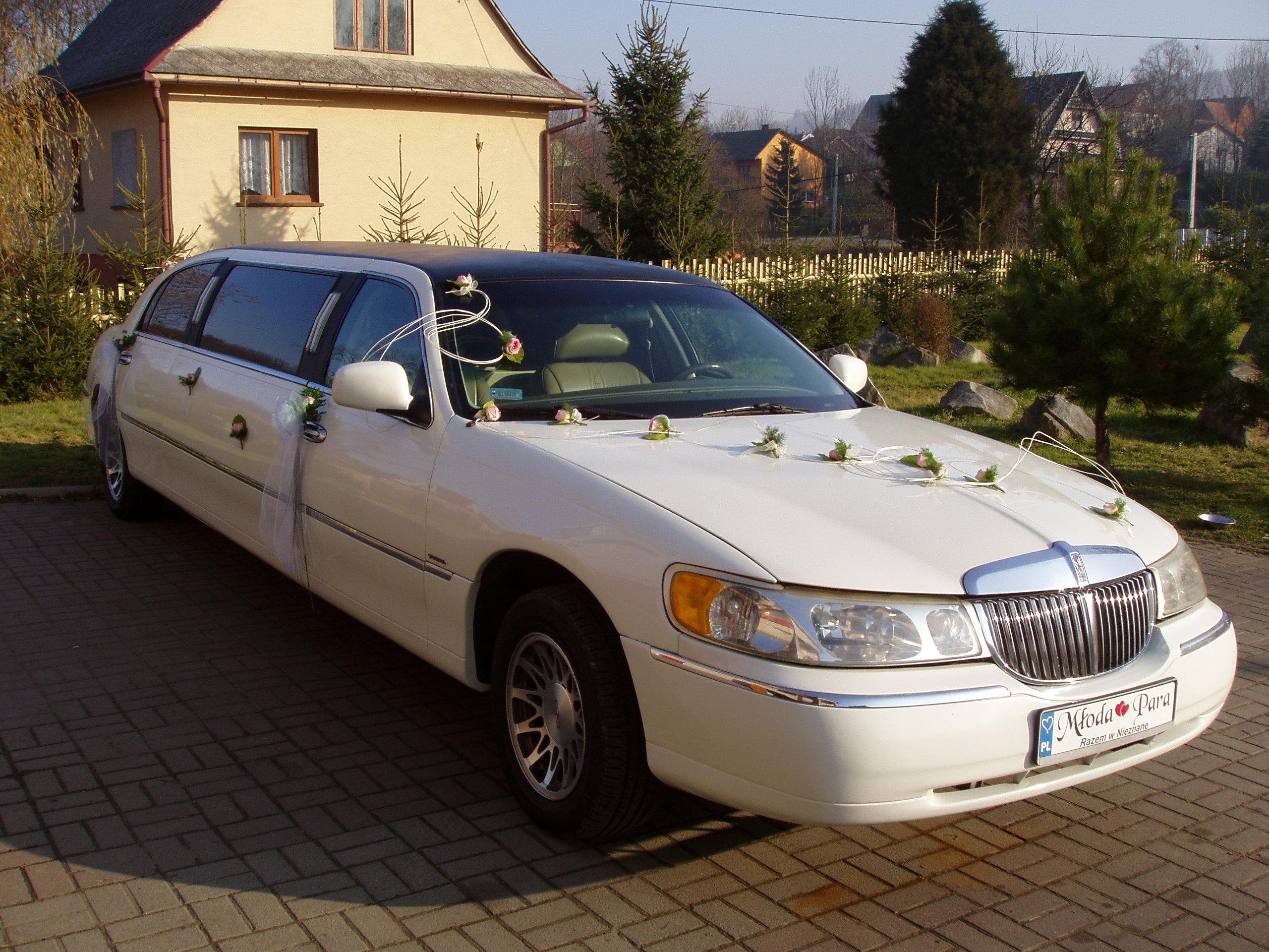Zupełnie nowe Limuzyna Lincoln 8m Biała Slub Wesele Malopolska - Zespoły weselne BU77