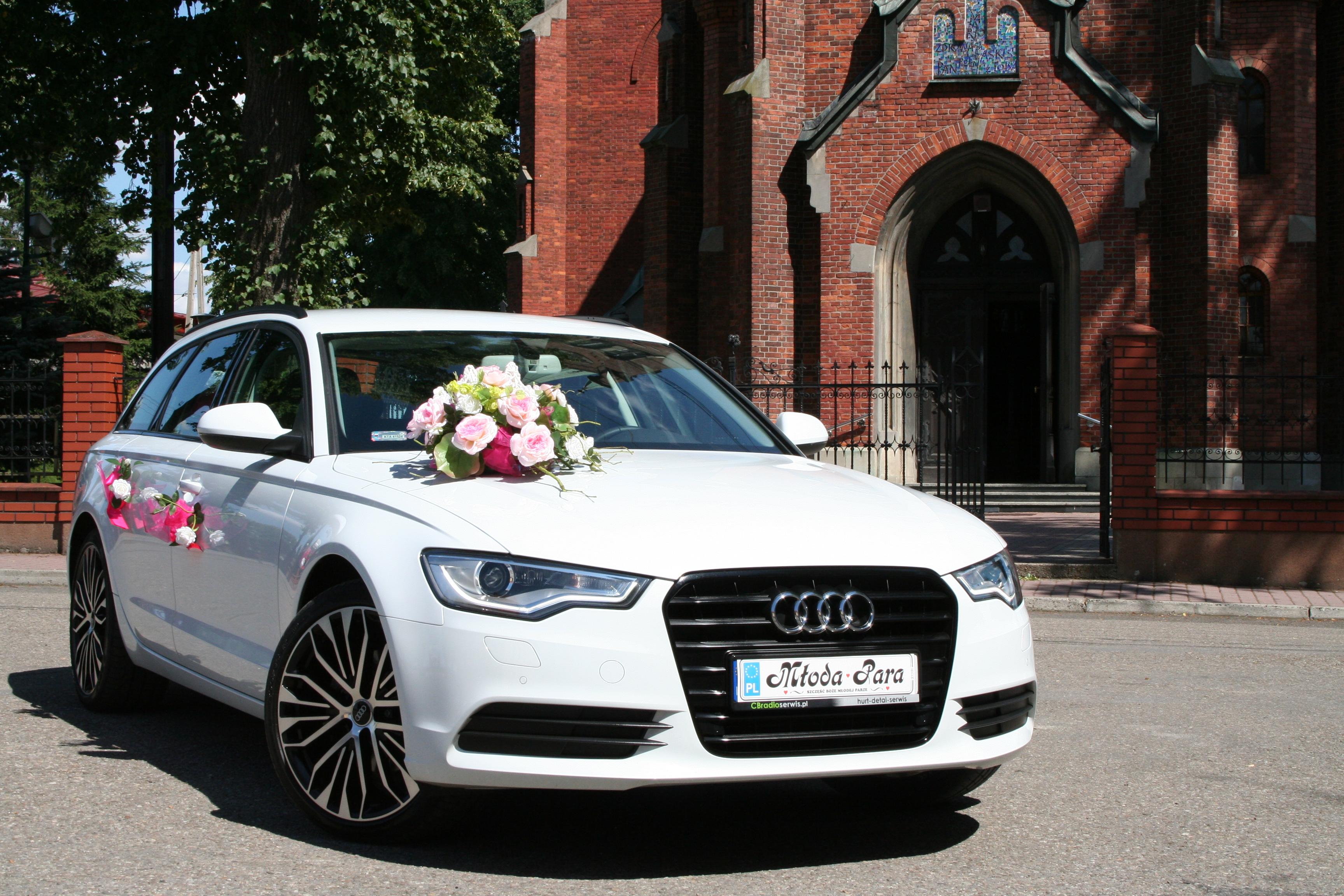 Ogromny Ekskluzywne Audi A6 AVANT 2014 do wynajęcia ślub/ uroczystość HW26