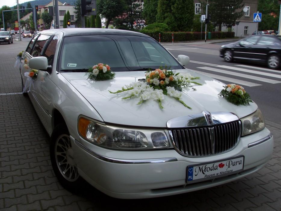 Chwalebne Limuzyna Lincoln 8m Biała Slub Wesele Malopolska - Zespoły weselne NX44