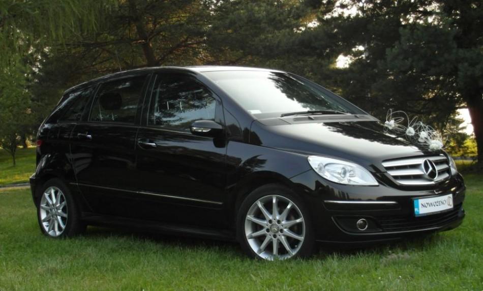 Mercedes B Klasa do ślubu ... Nietypowo, Elegancko a zarazem Tanio ... T L Jaguar