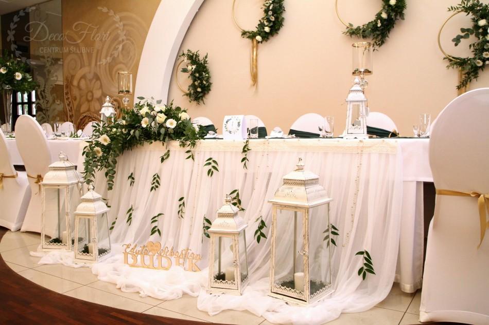 Decoflori Dekoracje ślubne Pokorwce Na Krzesła