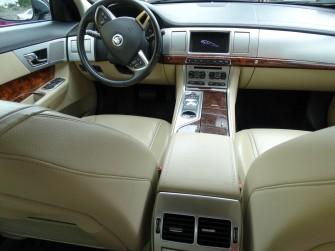 Luksusowy bia�y Jaguar XF - Wielkopolska-TANIO!!! pozna�