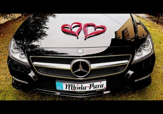 Mercedes CLA AMG - Black Night Warszawa