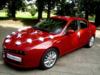 Alfa Romeo 159 do ślubu Zabrze