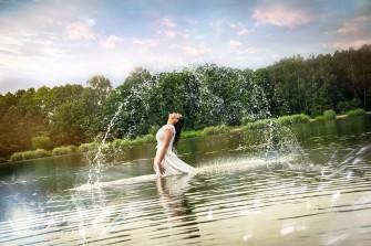 Sesja w wodzie Rybnik