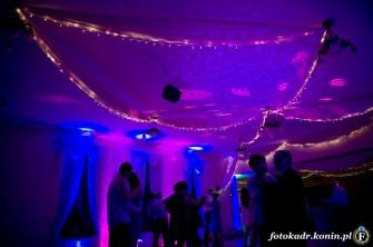 Kreatywne filmowanie,Dekoracja światłem sal weselnych Koło
