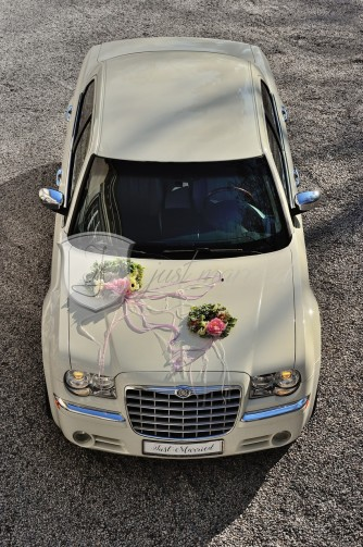 Just Married - Auto do ślubu Chrysler 300c Rzeszów