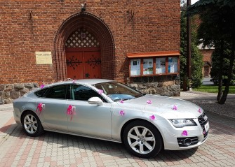 Auto do Ślubu Audi A7 Grudziądz, Brodnica ! Całe kujawsko-pomorskie.