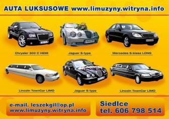 Ulotka www.limuzyny.witryna.info Warszawa