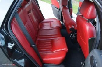 Alfa Romeo 156 - pi�kne, czerwone wn�trze Mi�sk Mazowiecki