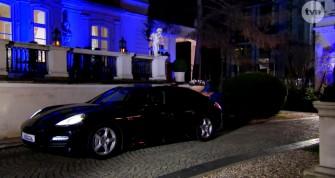 Warszawa Porsche Panamera auto do ślubu samochód na wesele