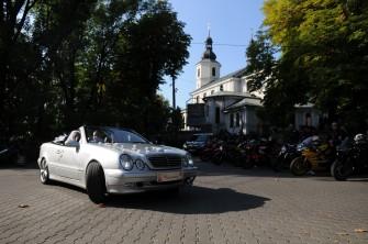 Auto do Ślubu kabriolet cabrio klasyk Mercedes TANIO Dąbrowa Górnicza
