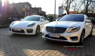 Porsche Panamera GTS i Mercedes S Pszów