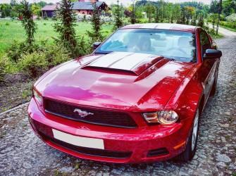 Ford Mustang do ślubu, imprezy, studniówki Bydgoszcz