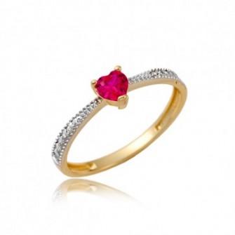 Złoty pierścionek Polkowice