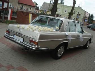 Auto do ślubu zabytkowy Mercedes W108  Szczecin