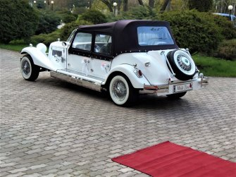 Luksusowe auta zabytkowe do ślubu RETRO samochody na ślub wesele Kock