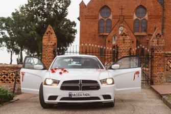 DODGE CHARGER - do ślubu kultowym amerykańskim autem Koszalin