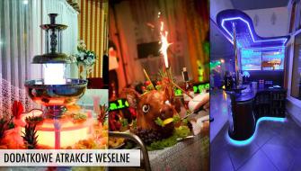Dodatkowe atrakcje weselne w SONACIE Wadowice