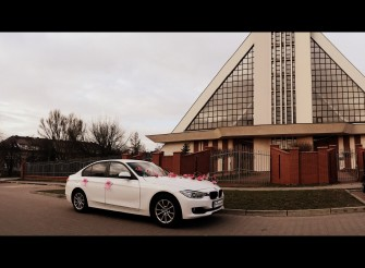*BIAŁE*NOWE BMW 3 ŚLUB 140 zł-Czerwony dywan GRATIS Będzin