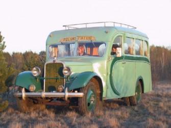Polski Fiat 618 z 1939r. Przewozi 11osób Otwock