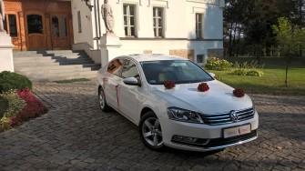 Do ślubu Passat B7-Jaguar XJ Namysłów
