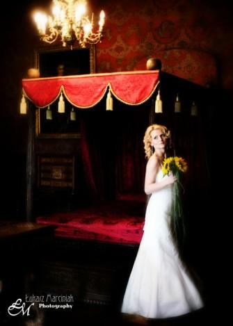 Sesja ślubna w Zamku Lipno