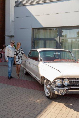 Izabela Janachowska z Naszymi Cadillacami Poznań