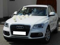 Białe Audi Q5 do Ślubu Sosnowiec