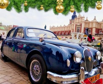 Jaguar Mark 1 1958 r Dobczyce