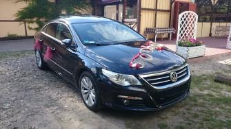Samochód do ślubu piękny Passat CC - Wielkoposka poznań