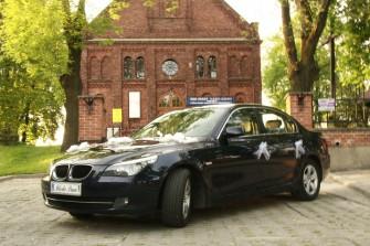 Auto do ślubu BMW E60 zgierz