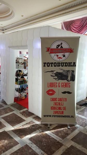 FotoBudka FotoZiombek.pl Dmuchany namiot Gadżety z USA od 350zł  Oświęcim