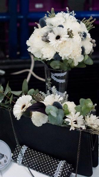 biało-czarne wesele Warszawa