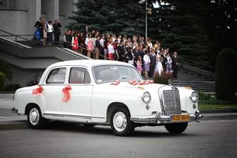Mercedes 219 z 1957 r. Rzeszów