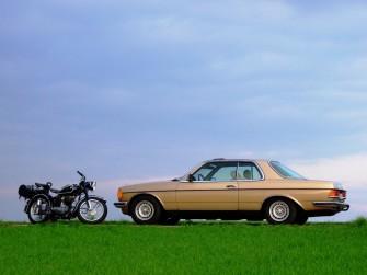 BMW R25 i klasyczny Mercedes - oferta plenerowa Krapkowice
