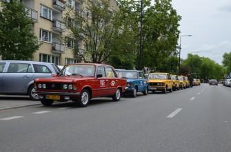 Fiaty 125p Warszawa