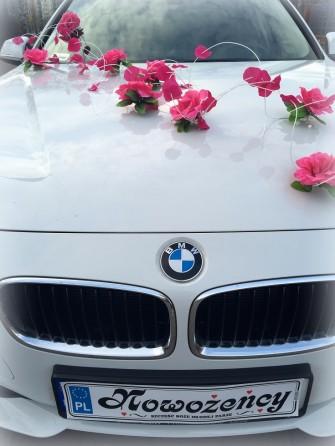 *BIAŁE*NOWE BMW 3 ŚLUB 140zł- DEKORACJA GRATIS ! Będzin