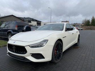 Maserati Ghibli Sq4 2020 440km Lublin