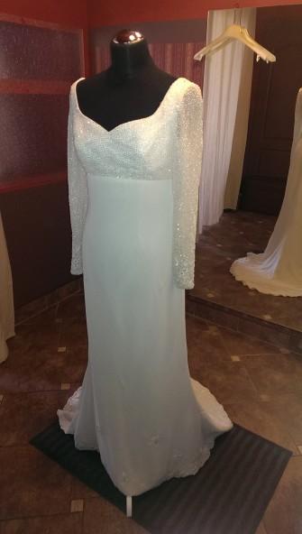 piękne i elegancka suknia ślubna Łódź