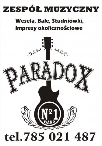 zespół PARADOX-100% NA ŻYWO ZDUŃSKA WOLA