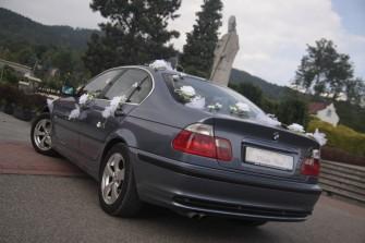 auto do ślubu Żywiec