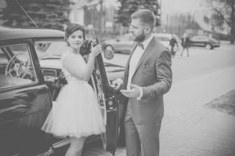 Piękny samochód do ślubu Olsztyn
