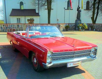 Plymouth Fury III 300 KM kabriolet Brańsk