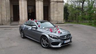 Auto do ślubu Mercedes-benz C AMG rok2016. Samochód na wesele. Wynajem Olkusz